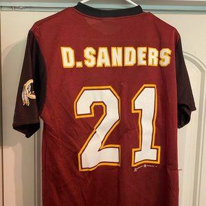 Deion Sanders Washington Redskins Alternate